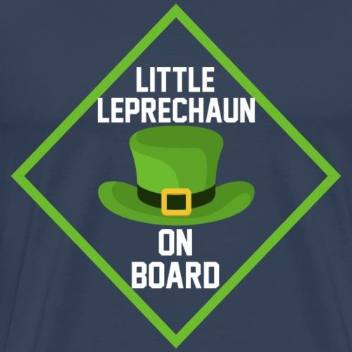 Little leprechaun on board - Männer Premium T-Shirt