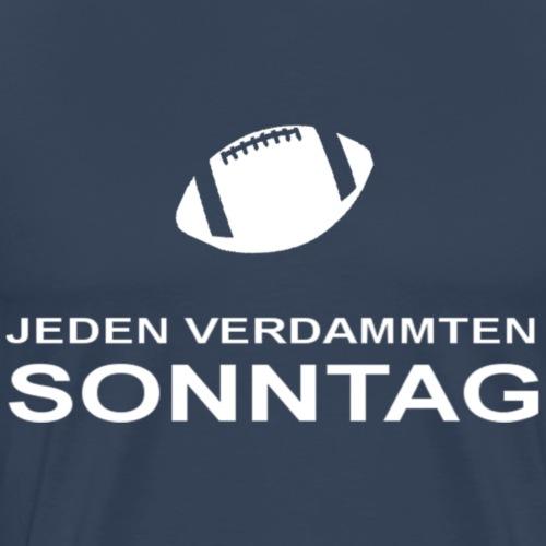 Jeden_verdammten_Sonntag - Männer Premium T-Shirt