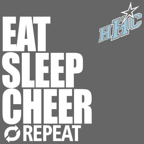 eat sleep cheer - Männer Premium T-Shirt
