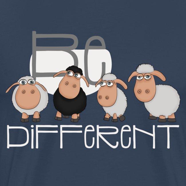 Coole Be different Schafe Gang - Gute Laune Schaf