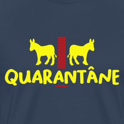 Quarantane - Mannen Premium T-shirt