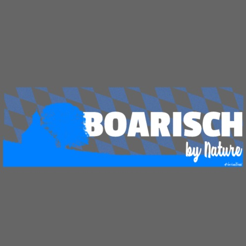 Boarisch By Nature - Männer Premium T-Shirt