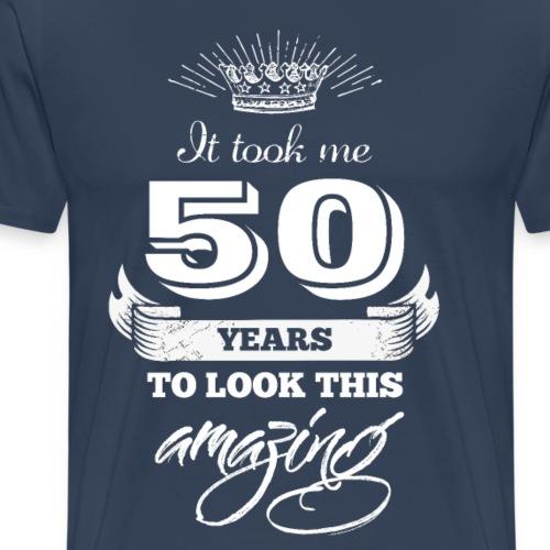It took me 50 years to look this amazing - Men's Premium T-Shirt