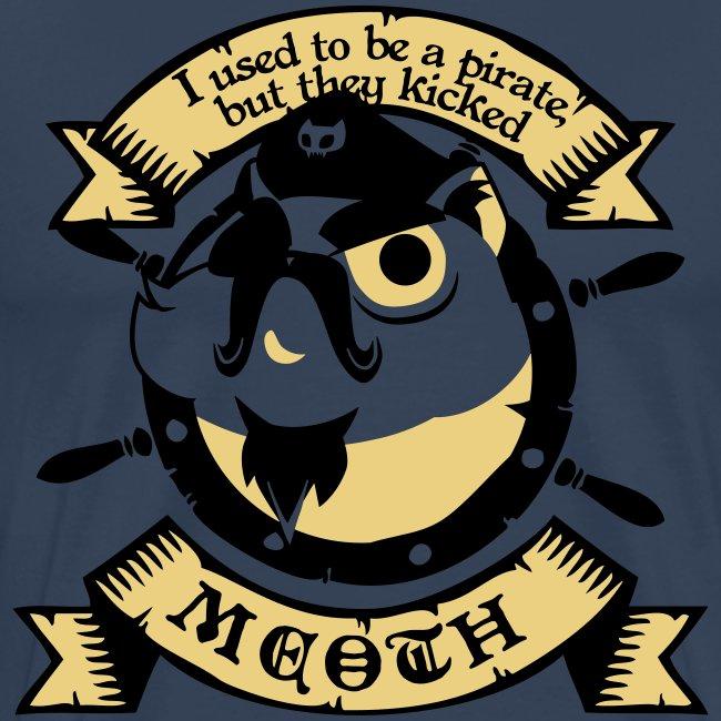 Katze Pirat Spruch