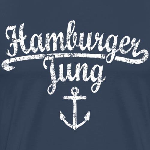 Hamburger Jung Klassik (Vintage Weiss) Hamburg - Männer Premium T-Shirt