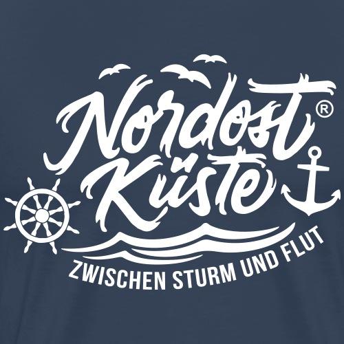 Nordost Küste Logo #4 - Männer Premium T-Shirt