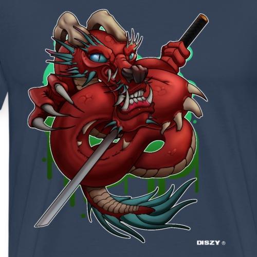 Asia Japan Style Demon Dragon by Mr. DiSzy
