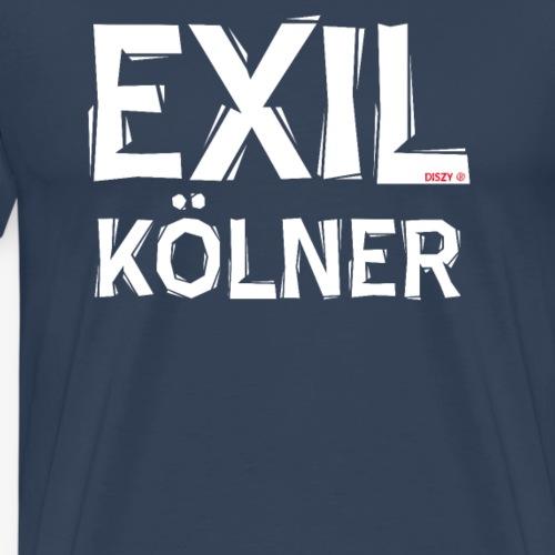 Exilkölner für Kölner im Exil - Männer Premium T-Shirt