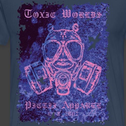 TOXIC WORLDS - 3F - Men's Premium T-Shirt