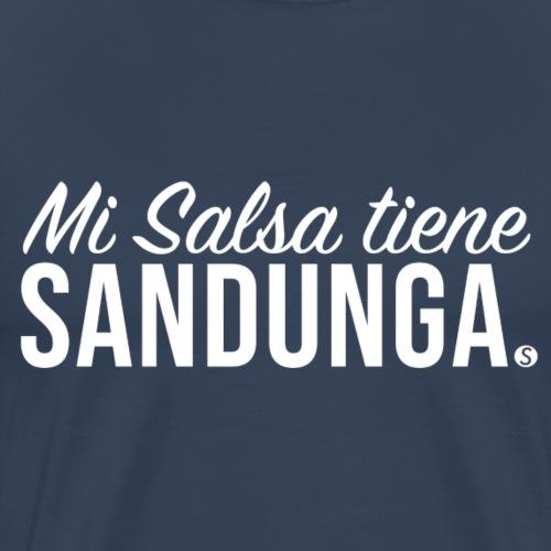 MI SALSA TIENE SANDUNGA - White (Elito Revé) - Men's Premium T-Shirt