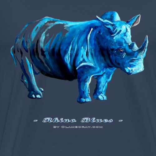 Rhino Blues - Men's Premium T-Shirt