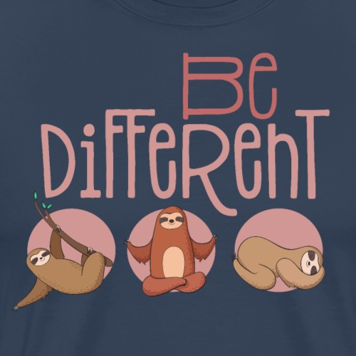 Besondere & lustige Faultiere - Be different
