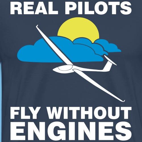 Segelflieger Geschenk Segelfliegen gleiten T-shirt - Männer Premium T-Shirt