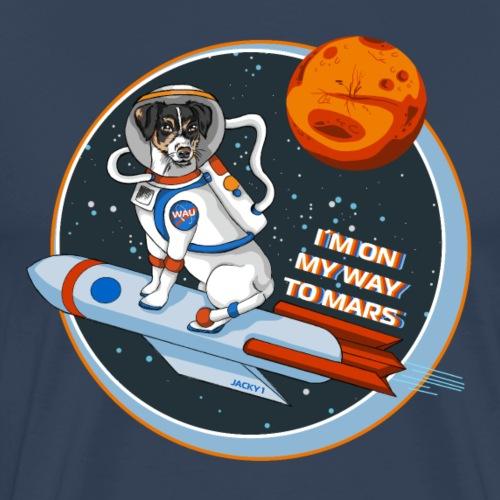 Astrodog - Männer Premium T-Shirt