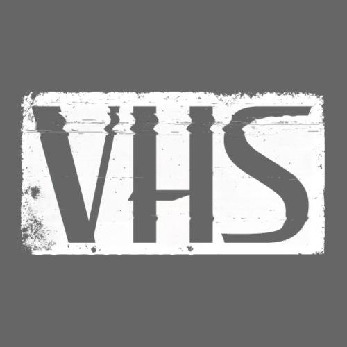 VHS WHITE LABEL - Miesten premium t-paita