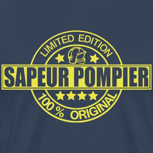 pompier limited edition logo - T-shirt Premium Homme