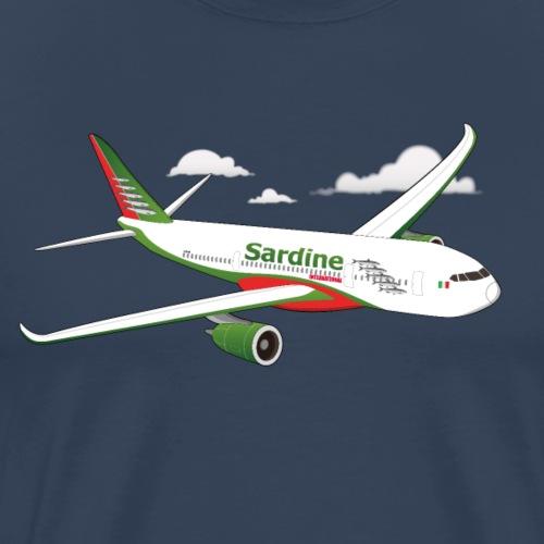 Avion Sardine Air - T-shirt Premium Homme