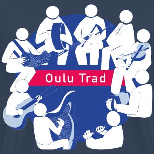 OULU Trad - Official - Miesten premium t-paita