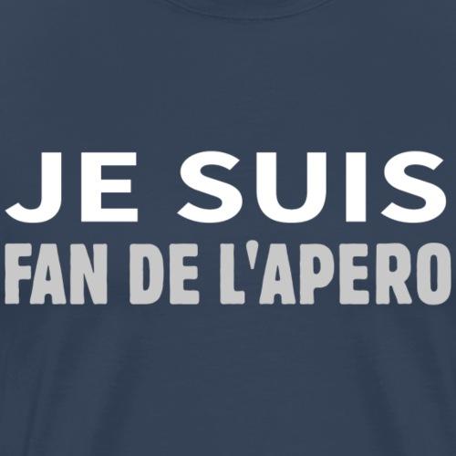 Je suis fan de l'apéro - Männer Premium T-Shirt