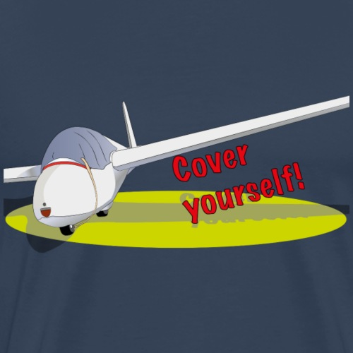Cover yourself! - Mannen Premium T-shirt