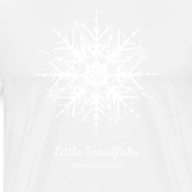 Schneeflocke Weihnachten Liebe Geschenk Kinder
