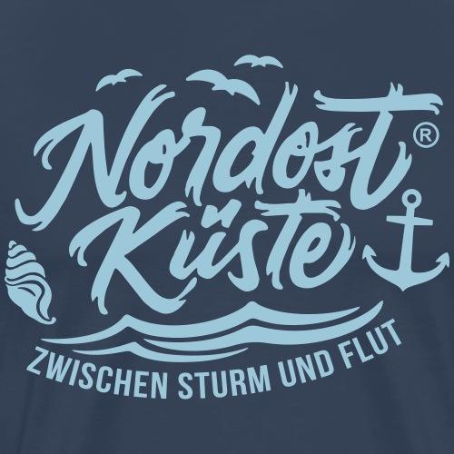 Nordost Küste - Männer Premium T-Shirt