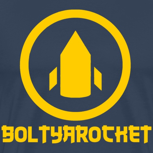 Bolt Ya Rocket - Men's Premium T-Shirt