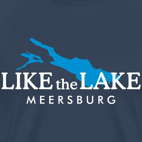 Like the Lake - Meersburg am Bodensee - Männer Premium T-Shirt
