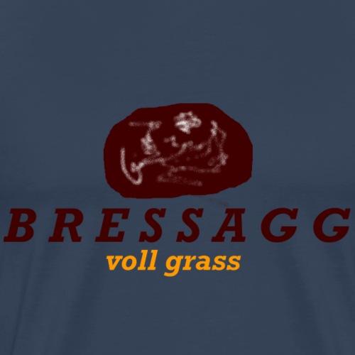 Bressag - voll grass - Männer Premium T-Shirt