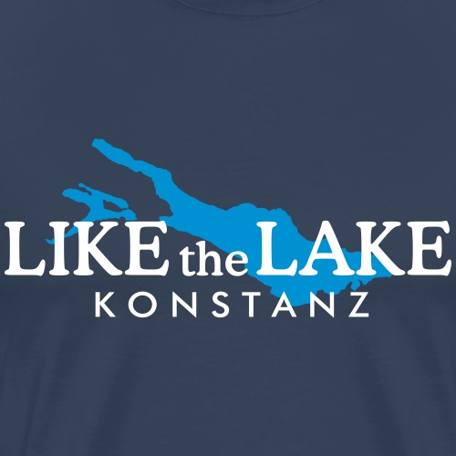 Konstanz am Bodensee - Like the Lake - Männer Premium T-Shirt