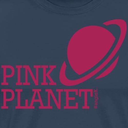 pink_planet collection - Männer Premium T-Shirt