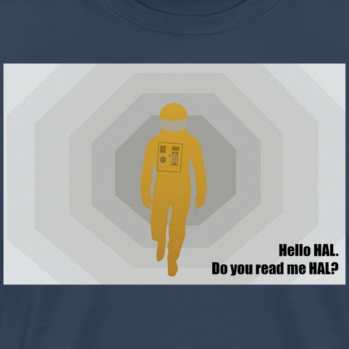 2001 Hello HAL png - Men's Premium T-Shirt