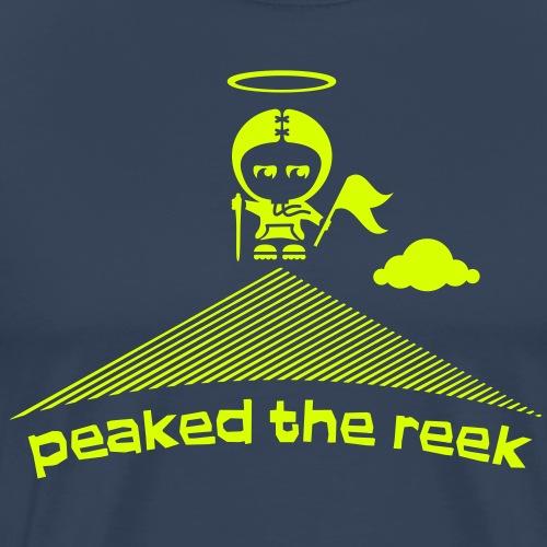 peaked the reek - Men's Premium T-Shirt
