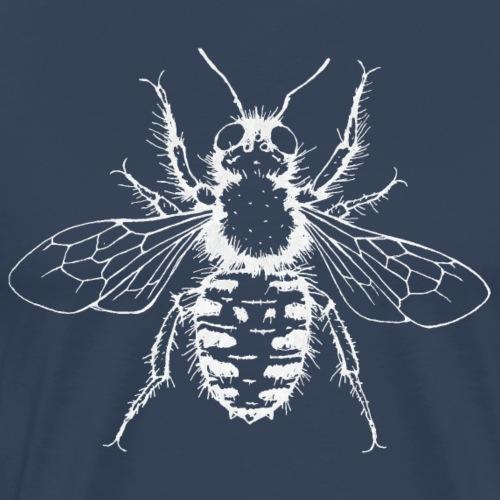 Wildbiene Anthidium manicatum - Männer Premium T-Shirt