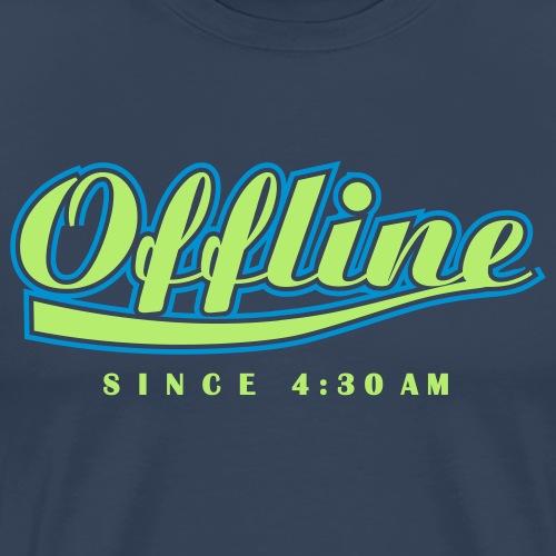 offline - Männer Premium T-Shirt