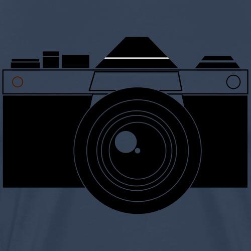 Appareil photo vecteur - T-shirt Premium Homme