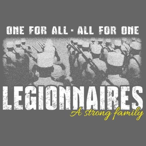 Legionnaires - Strong family - Men's Premium T-Shirt