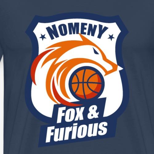 Nomeny Basket Bleu - T-shirt Premium Homme
