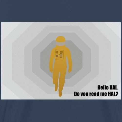 2001 Hello HAL png - Men's Premium T-Shirt