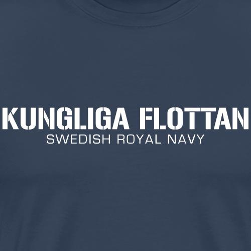 Kungliga Flottan - Swedish Royal Navy - Premium-T-shirt herr