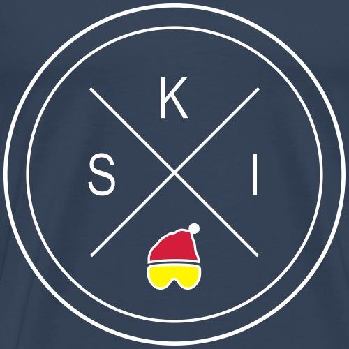 S-K-I - Männer Premium T-Shirt