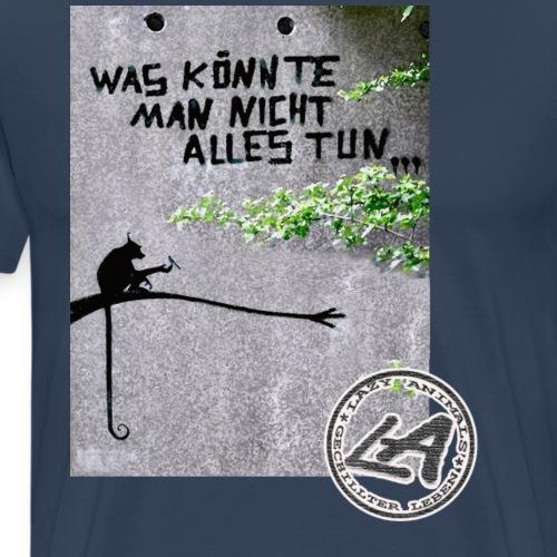 was könnte man nicht alles png - Männer Premium T-Shirt