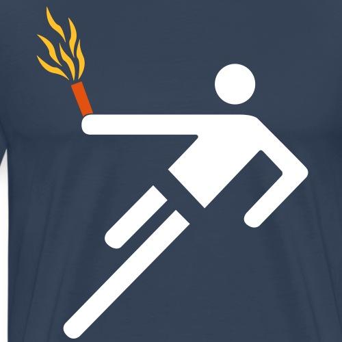 Pyrotechnik Fussball Ultras - Männer Premium T-Shirt