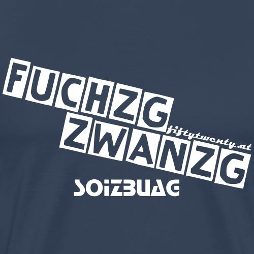 Fuchzg Zwanzg Soizburg - Männer Premium T-Shirt