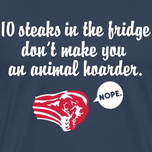 Animal Hoarder - Männer Premium T-Shirt
