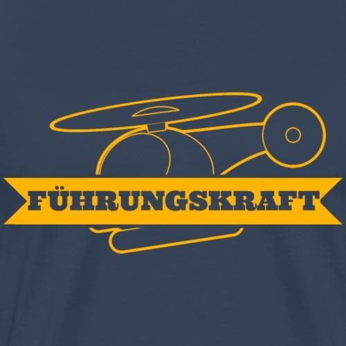 fuehrungskraft_heli_g - Männer Premium T-Shirt