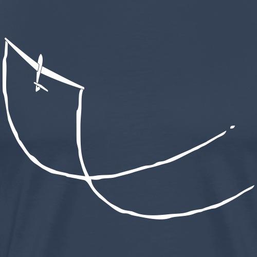 Kunstflug Segelflugzeug - Männer Premium T-Shirt