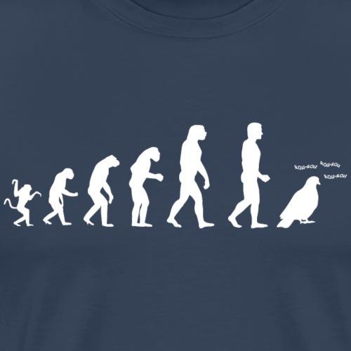 Evolution de l'homme :Tous des pigeons !
