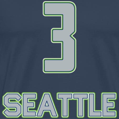 Seattle - Männer Premium T-Shirt