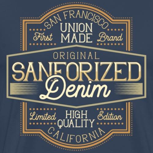 Sanforced Denim - Männer Premium T-Shirt